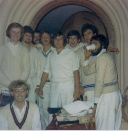 Cricket Match   1974