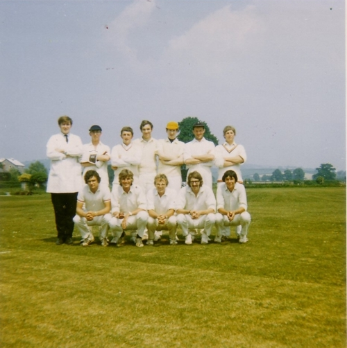 Killerton Cricket XI   1970