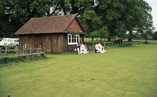 The Cricket Pavilion   1973